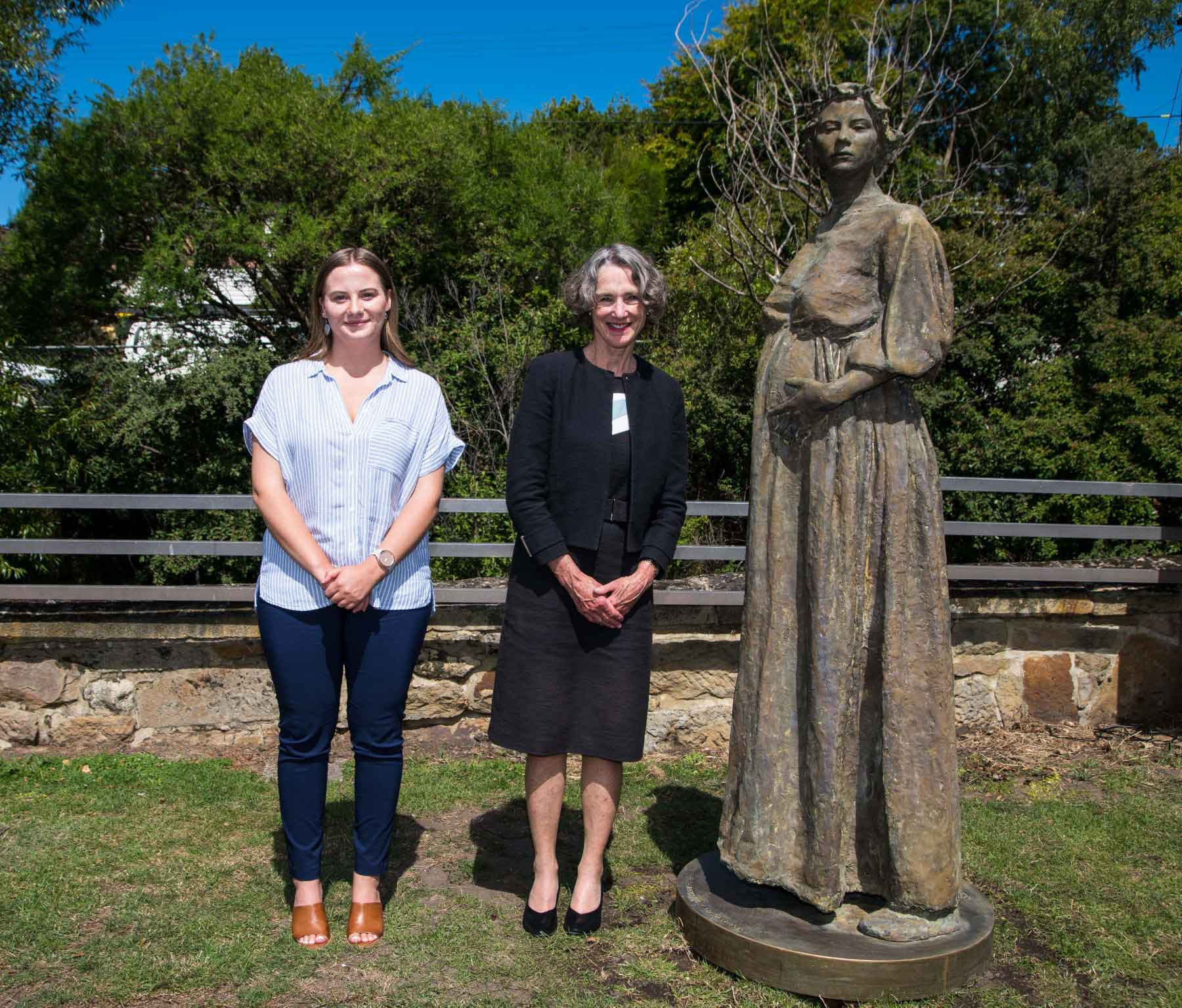 FTS Her Excellency and Brydie Pearce sm