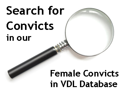 Search the Female Convicts in Van Diemen's Land Database